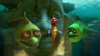 Sammy 2 - La grande fuga: una scena del film d'animazione con protagonista la piccola tartarughina