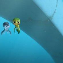 Sammy 2 - La grande fuga: una scena sottomarina del film