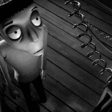 Frankenweenie di Tim Burton: un'inquietante scena tratta dal film d'animazione di Tim Burton
