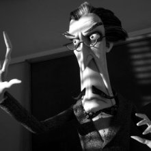Frankenweenie: Mr. Rzykruski in una scena tratta dal film