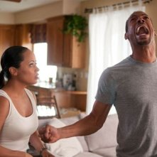 Ghost Movie: Marlon Wayans ed Essence Atkins in una buffa scena