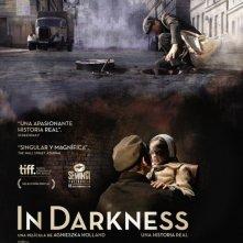 In Darkness: la locandina spagnola del film