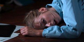 The Ghostmaker: Liz Fenning in una drammatica scena del film