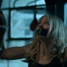 The Ghostmaker: Liz Fenning legata e imbavagliata in una paurosa scena del film
