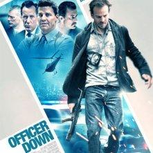 Officer Down: la locandina del film