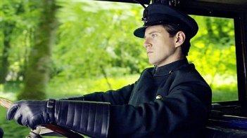 Downton Abbey: Allen Leech in una foto di scena della serie