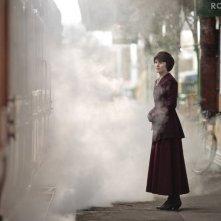 Downton Abbey: Michelle Dockery in una scena della serie