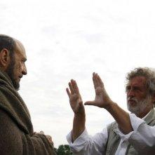 11 settembre 1683: F. Murray Abraham sul set insieme al regista Renzo Martinelli e a Enrico Lo Verso