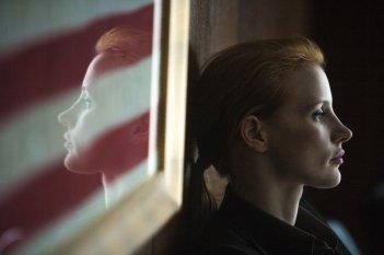 Operazione Zero Dark Thirty: Jessica Chastain in un bel primo piano di profilo