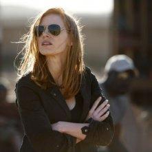 Operazione Zero Dark Thirty: Jessica Chastain in una scena del film