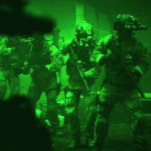 Operazione Zero Dark Thirty: un gruppo di marines visti dal visore notturno