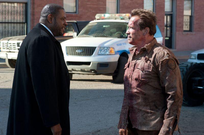 The Last Stand L Ultima Sfida Forest Whitaker Con Arnold Schwarzenegger In Una Scena 260977