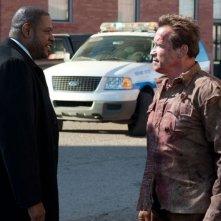 The Last Stand - L'ultima sfida: Forest Whitaker con Arnold Schwarzenegger in una scena
