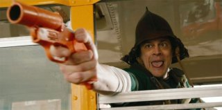 The Last Stand - L'ultima sfida: Johnny Knoxville in una scena