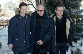 Educazione siberiana: Gabriele Salvatores tra gli interpreti Arnas Fedaravicius e Vilius Tumalavicius a Courmayeur Noir 2012