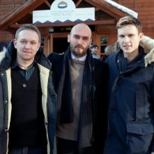 Educazione siberiana: Nicolai Lilin tra gli interpreti Arnas Fedaravicius e Vilius Tumalavicius a Courmayeur Noir 2012