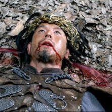 L'uomo con i pugni di ferro: una scena tratta dal film
