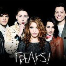 La locandina di Freaks!