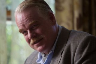 The Master: il grande Philip Seymour Hoffman in una scena del film