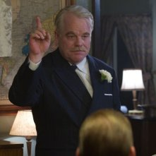 The Master: Philip Seymour Hoffman in una scena