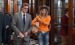 Cameron Diaz e Colin Firth in una scena di Gambit