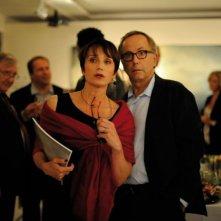 Dans la Maison: Fabrice Luchini insieme a Kristin Scott Thomas in una scena del film
