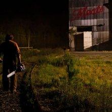 Non aprite quella porta 3D: Dan Yeager nei panni di Leatherface