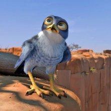 Zambezia: il giovane falcon Kai in una scena del film