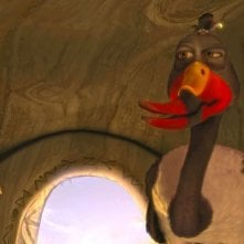 Zambezia: l'uccello Gogo in una scena del film