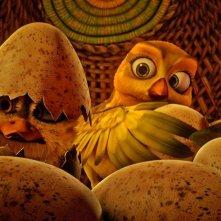 Zambezia: uova che si schiudono in una scena del film