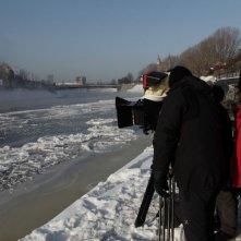 Educazione Siberiana: il regista Gabriele Salvatores sul set