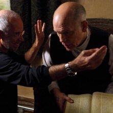 Educazione Siberiana: John Malkovich sul set con il regista Gabriele Salvatores