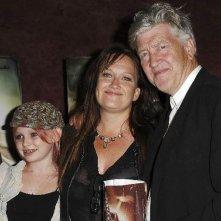 Jennifer Chambers Lynch con il padre David Lynch e la figlia Sydney