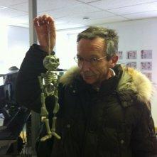 La bottega dei suicidi: il regista del film Patrice Leconte sul set