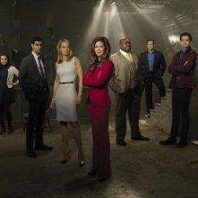 Body of Proof: un'immagine promozionale del cast per la terza stagione della serie