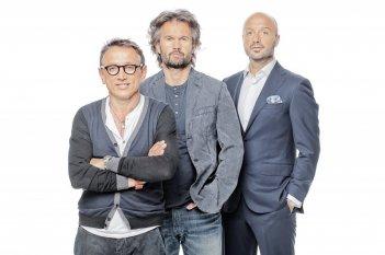 Bruno Barbieri, Carlo Cracco e Joe Bastianich, giudici della seconda edizione di Masterchef