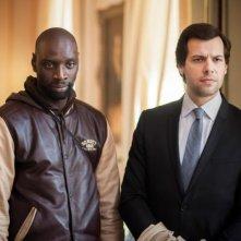 Omar Sy con Laurent Lafitte in De l'autre côté du périph