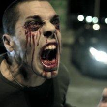 Daniele Zinelli in una immagine tratta dalla web serie Tears