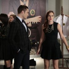 Gossip Girl: Ed Westwick e Leighton Meester nell'episodio Save the Last Chance