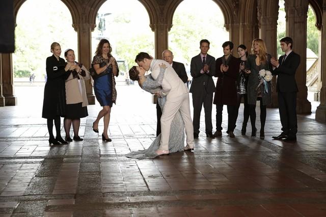 Gossip Girl Leighton Meester E Ed Westwick In Un Momento Dell Episodio Finale New York I Love You Xo 261957