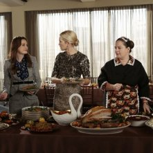 Gossip Girl: Leighton Meester, Kelly Rutherford e Zuzanna Szadkowsk nell'episodio It's Really Complicated