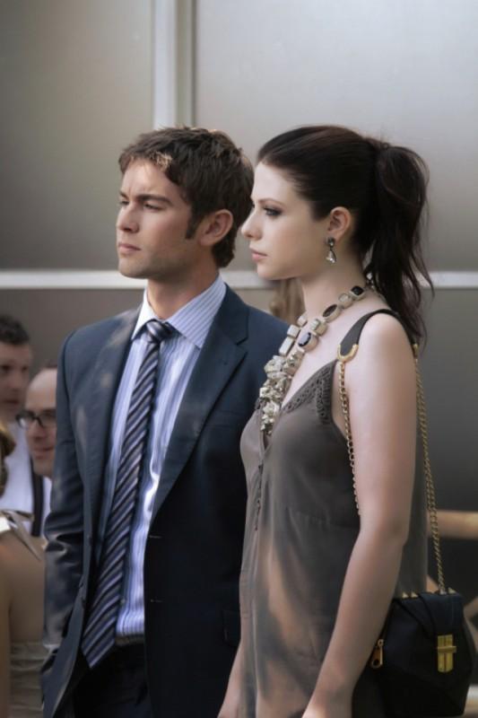 Gossip Girl Michelle Trachtenberg E Chace Crawford Una Scena Dell Episodio Gone Maybe Gone 261991
