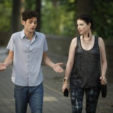 Gossip Girl: Penn Badgley e Michelle Trachtenberg in una scena dell'episodio High Infidelity