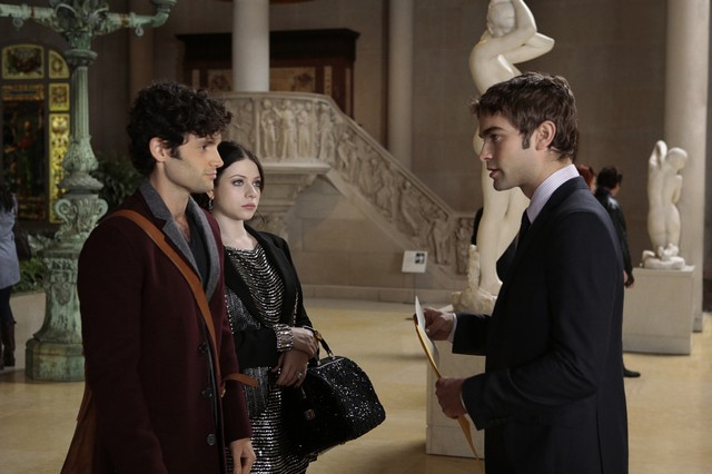 Gossip Girl Penn Badgley Michelle Trachtenberg E Chace Crawford Nell Episodio Finale New York I Love 261955