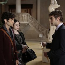 Gossip Girl: Penn Badgley, Michelle Trachtenberg e Chace Crawford nell'episodio finale New York, I Love You XOXO
