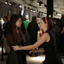 Gossip Girl: Yin Chang e Leighton Meester nell'episodio Save the Last Chance