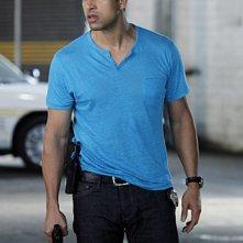 CSI Miami: Adam Rodriguez in una scena dell'episodio Il killer leggendario, della decima stagione