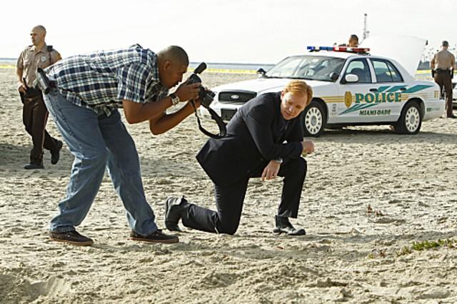 Csi Miami David Caruso E Omar Benson Miller In Una Scena Dell Episodio Segreto Di Famiglia Della Dec 262113