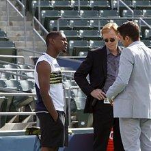 CSI Miami: Jonathan Togo, David Caruso, Aml Ameen in una scena dell'episodio A rischio, della decima stagione