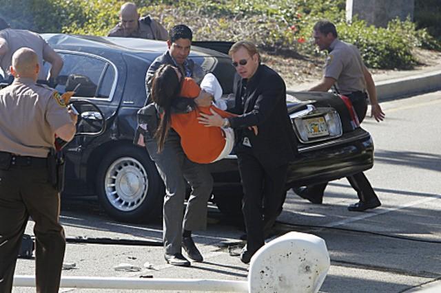 Csi Miami Taylor Cole David Caruso E Adam Rodriguez In Una Scena Dell Episodio Habeas Corpse Della D 262125